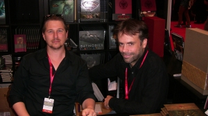 blizzplanet-nycc-2013-insight-editions-booth-6-joseph-lacroix-and-doug-alexander
